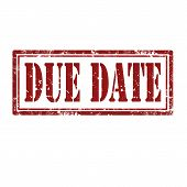 Due Date-stamp
