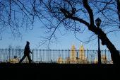 A correr en el Parque Central