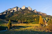 foto of pieniny  - Three Crowns  - JPG