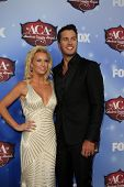 LAS VEGAS - DEC 10:  Caroline Boyer, Luke Bryan at the 2013 American Country Awards at Mandalay Bay Events Center on December 10, 2013 in Las Vegas, NV