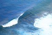 Blue Ocean Wave Bali Indonesia