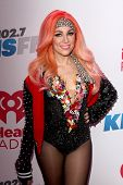 LOS ANGELES - DEC 6:  Bonnie McKee at the KIIS FM Jingle Ball 2013 at Staples Center on December 6,