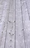 Weathered Wood Walkway Decking Boards poster