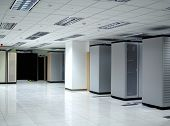 Interior de Datacenter