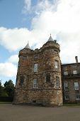 Edinburgh, Scotland - August 30: Holyrood Palace On August 30, 2013 In Edinburgh. Holyrood Palace, T