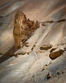 Rock And Sand Formation At Himalaya Mountains