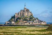 stock photo of mont saint michel  - Mont saint Michel  - JPG