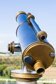 stock photo of avignon  - Typical France Tourist Binocular in Avignon - JPG