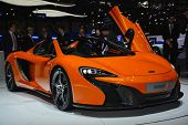 Mclaren 650S Spider At The Geneva Motor Show