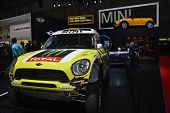 Mini Off Road Racer At The Geneva Motor Show