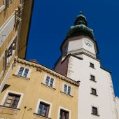 Michal Tower, Bratislava, Slovakia. Historic City Gate. poster