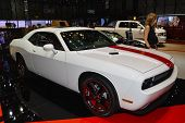 Dodge Challenger At The Geneva Motor Show