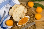pic of loquat  - Freshly picked loquats and some homamade marmalade - JPG