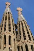 Sagrada Familia Cathedral by Gaudi, Barcelona