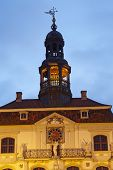 Lueneburg - Town Hall In The Evening