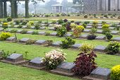 Ktauk Kyant War Memorial Cemetery In Myanmar