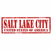 Salt Lake City-stamp