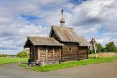 Antique wooden Church of at Kizhi island, Northern Russia
