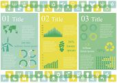image of sustainable development  - Vector set of infographic elements - JPG