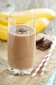 Chocolata banana smoothie