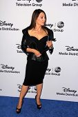 LOS ANGELES - MAY 19:  Ming-Na Wen at the Disney Media Networks International Upfronts at Walt Disne