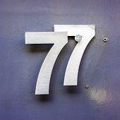 Number 77