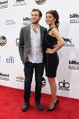 LAS VEGAS - MAY 18:  Phillip Phillips, Hannah Blackwell at the 2014 Billboard Awards at MGM Grand Ga