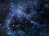 stock photo of metaphysics  - Deep Space series - JPG
