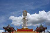 Guan Yin Whit Blue Sky
