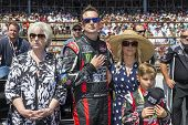 Indianapolis, IN - May 25, 2014:  NASCAR driver, Kurt Busch (26), runs the 98th annual Indianapolis