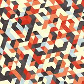Abstract geometric background. Vector illustration. Book cover. Background design. Graphics.