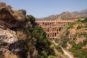 Roman Aqueduct Near Nerja