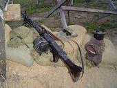 stock photo of mg  - this is a mg 34 german machine gun - JPG