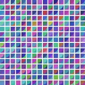 Abstract Squared Pattern On White Background