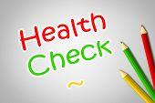 Health Check Concept