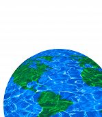 Clean Earth Isolated