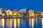 Petrcane Adriatic Village Colorful Evening Waterfront