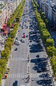 Champs Elysees Traffic