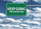 picture of perseverance  - Creative sign with the message  - JPG