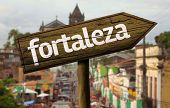 Fortaleza wooden sign, Brazil