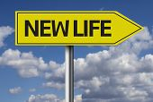 New Life creative sign