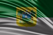 Amazing flag of the State of Rio Grande do Norte , Brazil