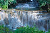 Waterfall in National park Kanchanaburi