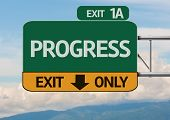 Creative Progress Exit Only, Road Sign