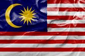 Amazing Flag of Malaysia in Germany, Europe