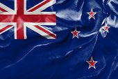 Amazing Flag of New Zealand, Oceania
