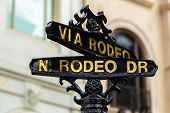 Rodeo Drive, Beverly Hills - California , USA