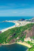 Aerial view of Rio de Janeiro, Brazil, Latin America