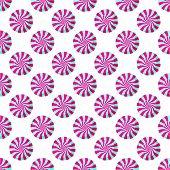 Lollipop seamless pattern illustration.