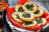 Arabic Flat Bread With Herbs